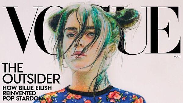 Vogue dergisini Rus genç kız yaptı - Sputnik Türkiye