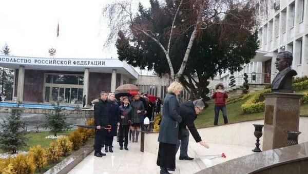 Rusya'nın eski Ankara Büyükelçisi Karlov doğum gününde anıldı - Sputnik Türkiye