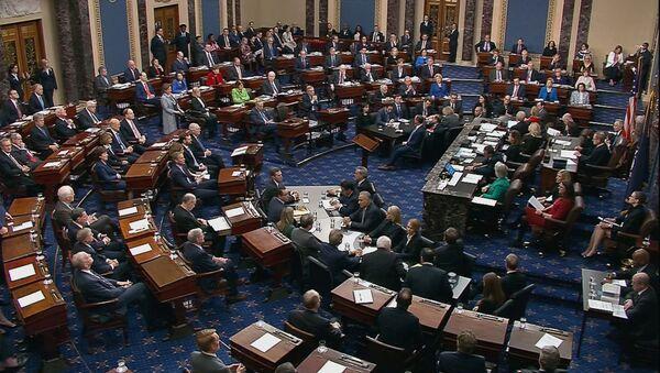 ABD Senatosu, azil oylaması - Sputnik Türkiye