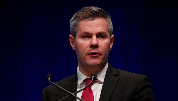 İskoçya Maliye Bakanı Derek Mackay istifa etti - Sputnik Türkiye