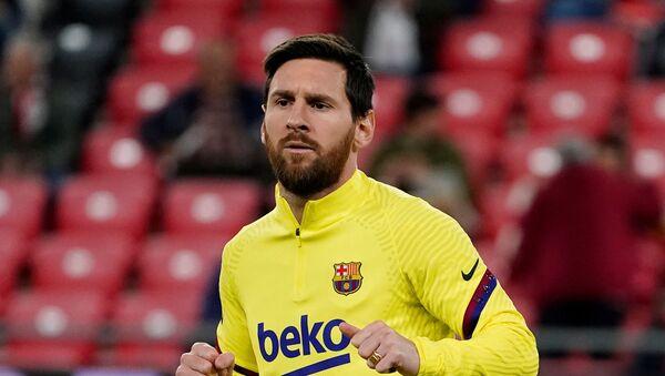 Messi, Kral Kupası - Sputnik Türkiye