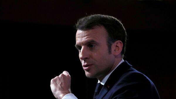 Fransa Cumhurbaşkanı Emmanuel Macron - Sputnik Türkiye
