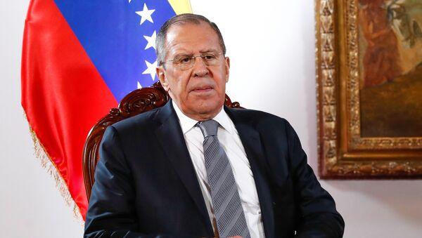 Venezüella'da bulunan Rusya Dışişleri Bakanı Sergey Lavrov - Sputnik Türkiye