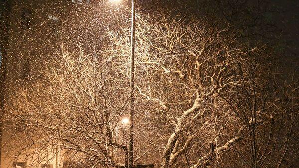 İstanbul'da kar yağışı Üsküdar'da da etkili oldu. - Sputnik Türkiye