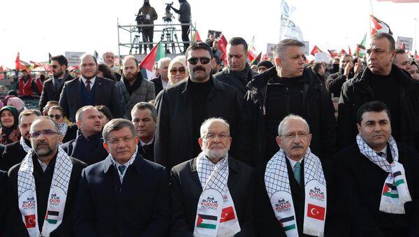 Büyük Kudüs Mitingi - Sputnik Türkiye