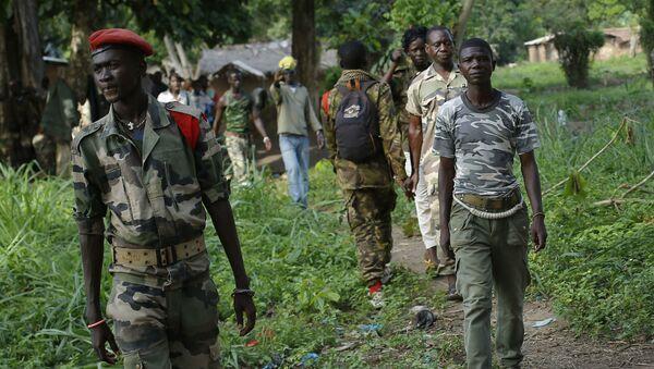 OrtaAfrikaCumhuriyeti'nde (OAC), silahlı Hristiyan anti-Balaka grubu - Sputnik Türkiye