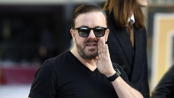 İngiliz komedyen ve oyuncu Ricky Gervais - Sputnik Türkiye