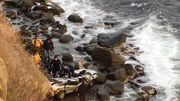 Tekirdağ'da otomobil denize uçtu: 1 ölü - Sputnik Türkiye