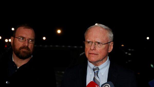 ABD'nin Suriye Özel Temsilcisi James Jeffrey, Ankara'ya geldi. - Sputnik Türkiye