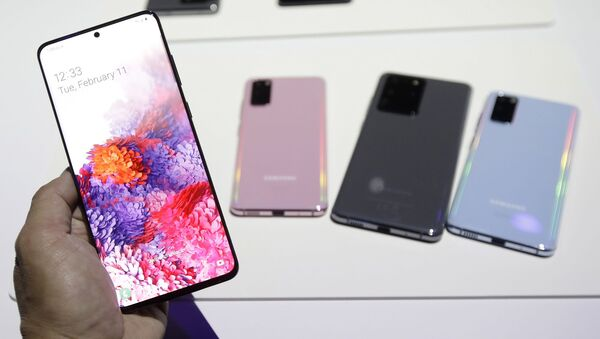 Samsung Galaxy S20 serisi - Sputnik Türkiye