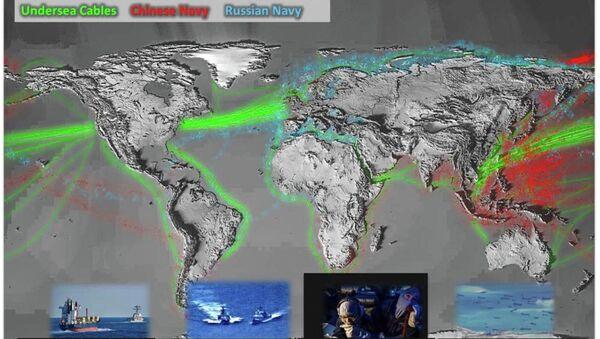 Pentagon, Rus donanmasının aktivitelerini gösteren harita yayınladı - Sputnik Türkiye