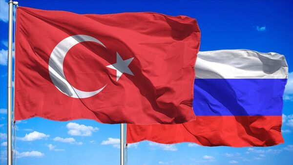 Türkiye- Rusya bayrağı - Sputnik Türkiye