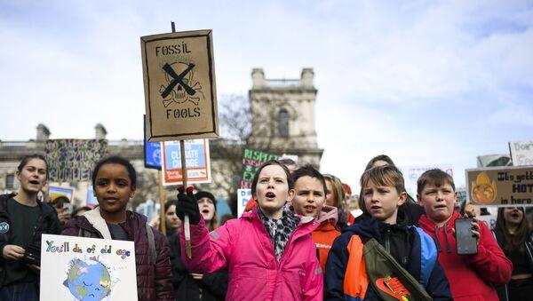 Londra, iklim eylemi - Sputnik Türkiye