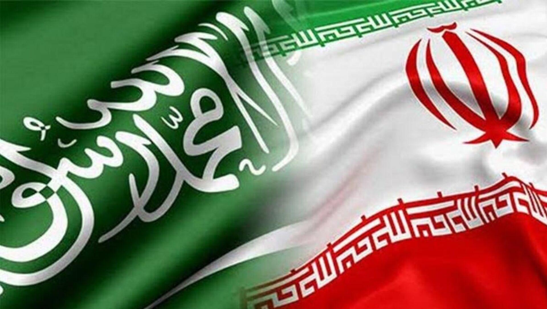 Suudi Arabistan - İran bayrak - Sputnik Türkiye, 1920, 22.04.2021