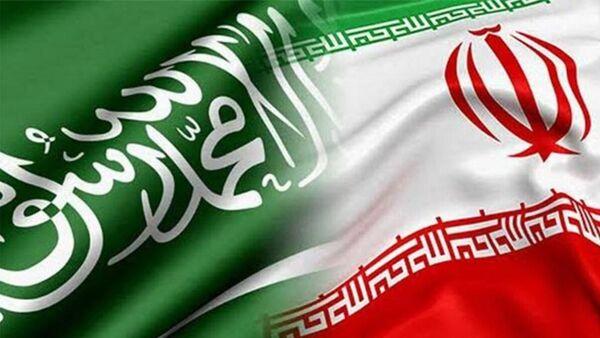 Suudi Arabistan - İran bayrak - Sputnik Türkiye