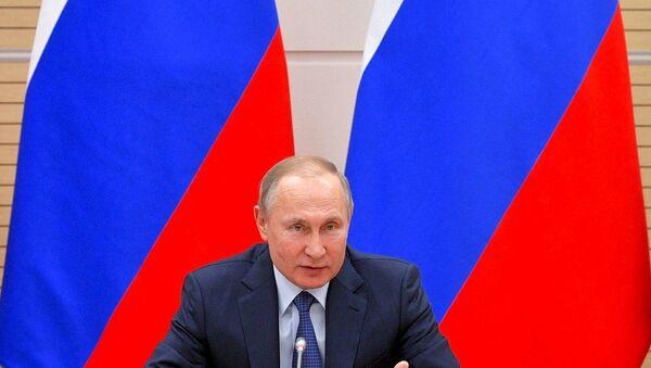 Vladimir Putin - Sputnik Türkiye