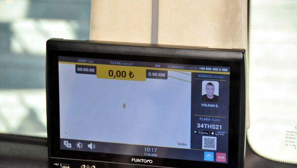 İstanbul Havalimanı'na akıllı taksi uygulaması - Sputnik Türkiye