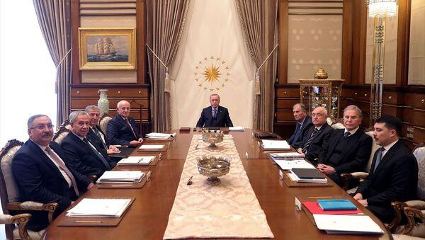 Cumhurbaşkanlığı Yüksek İstişare Kurulu Toplantısı - Sputnik Türkiye