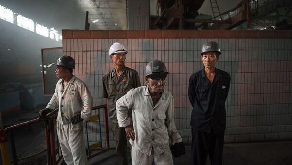 Güney Kore-işçi-çalışma yaşamı - Sputnik Türkiye