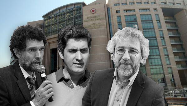 Osman Kavala- Mehmet Ali- Alabora- Can Dündar - Sputnik Türkiye
