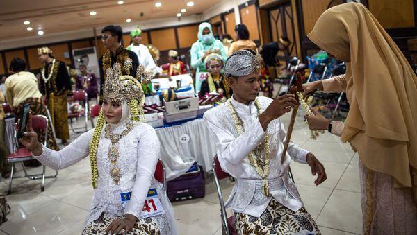 Endonezya-evlilik - Sputnik Türkiye