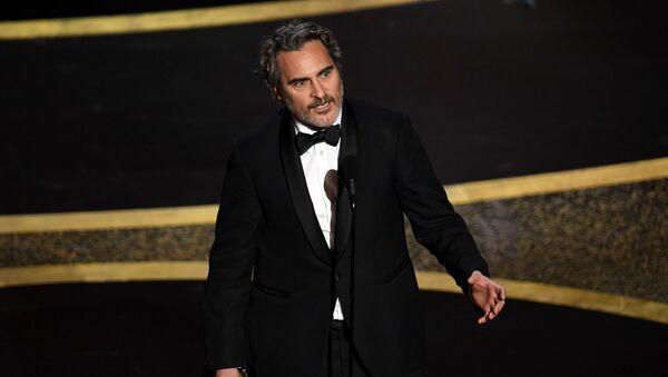 Oyuncu Joaquin Phoenix  - Sputnik Türkiye