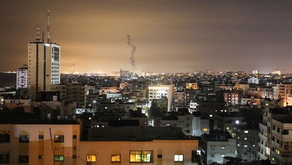 Gazze'den İsrail'e 20 roket fırlatıldı - Sputnik Türkiye