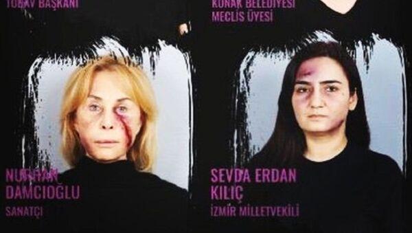 Kadına şiddet, Sevda Erdan Kılıç - Sputnik Türkiye