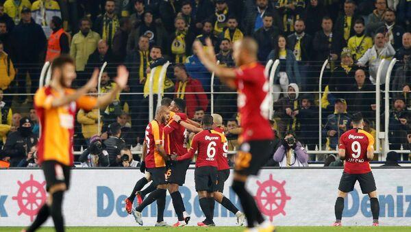 Fenerbahçe-Galatasaray derbisi - Sputnik Türkiye