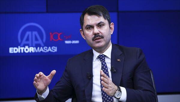 Çevre ve Şehircilik Bakanı Murat Kurum, - Sputnik Türkiye