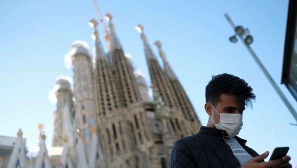İspanya - Barselona - koronavirüs  - Sputnik Türkiye