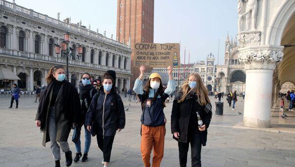 İtalya-Venedik-koronavirüs  - Sputnik Türkiye