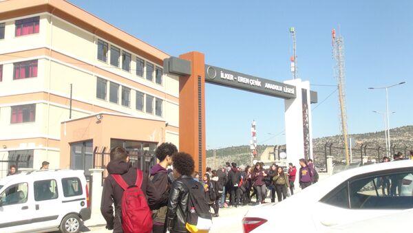 Okuldaki ilaçlamadan 17 öğrenci zehirlendi - Sputnik Türkiye
