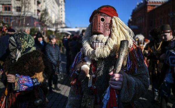 Moskova Maslenitsa Festivali - Sputnik Türkiye