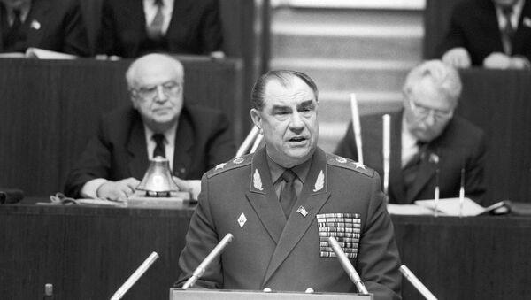 Sovyet Mareşali Dmitriy Yazov - Sputnik Türkiye