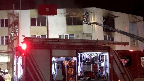 Tuzla'da sanayi sitesinde yangın - Sputnik Türkiye