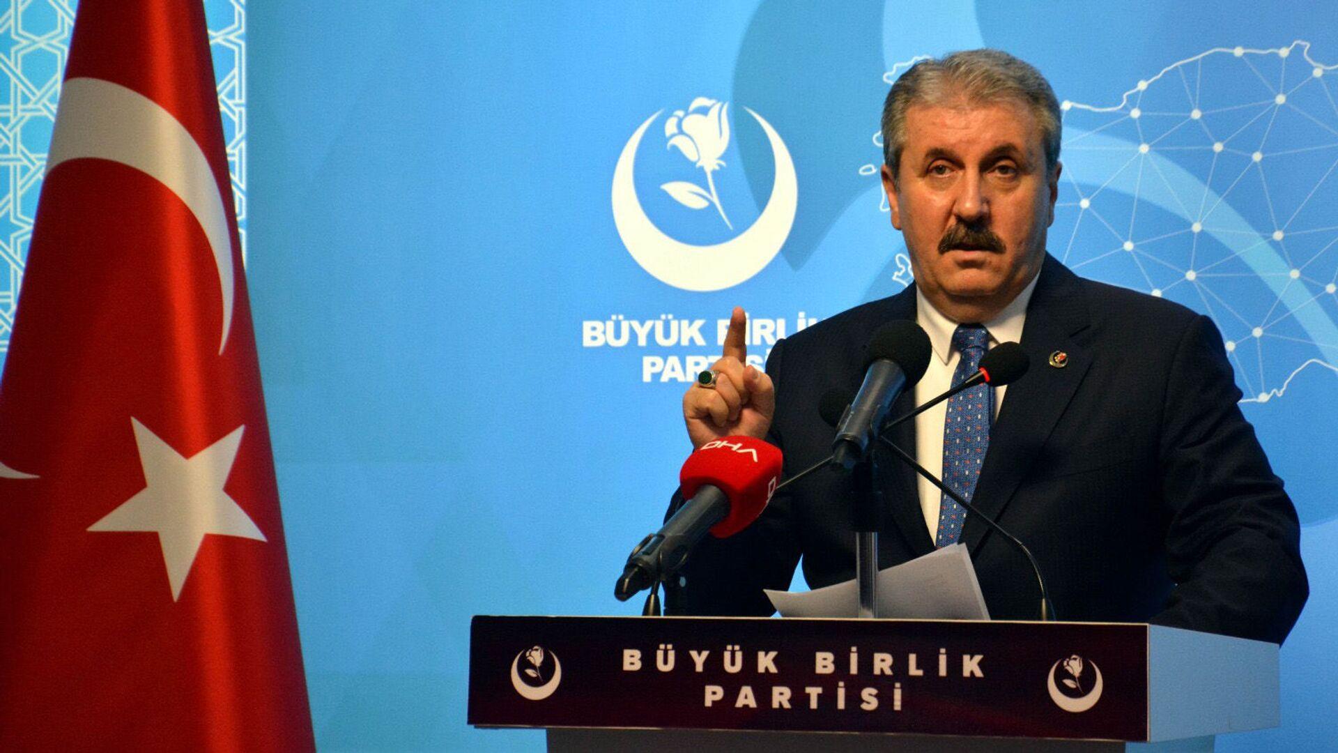 Mustafa Destici - Sputnik Türkiye, 1920, 01.09.2021