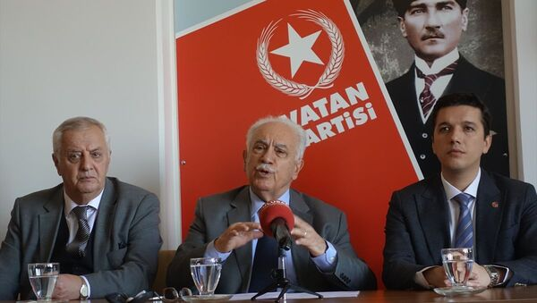 Vatan Partisi Genel Başkanı Doğu Perinçek - Sputnik Türkiye