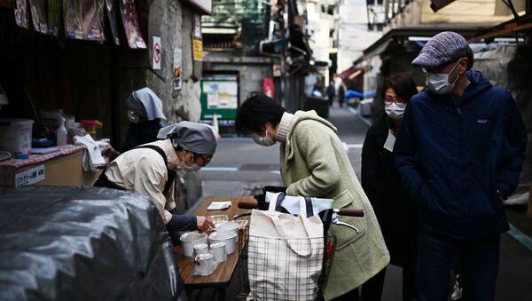 Japonya - koronavirüs - Sputnik Türkiye