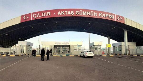 Çıldır Aktaş Sınır Kapısı - Sputnik Türkiye
