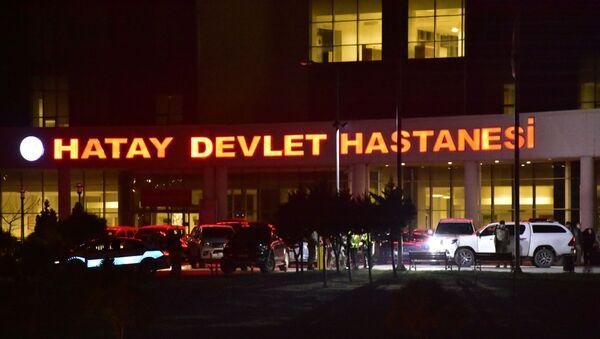 Hatay Devlet Hastanesi - Sputnik Türkiye