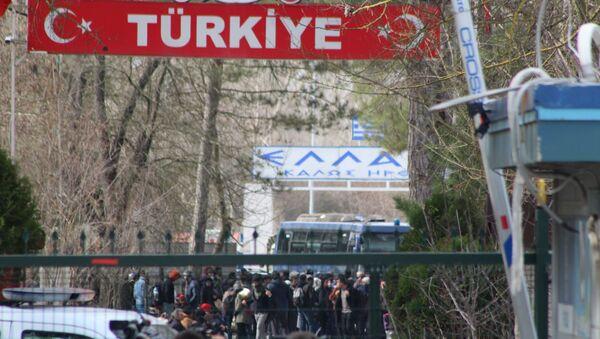 PazarkuleSınırKapısı - Sputnik Türkiye