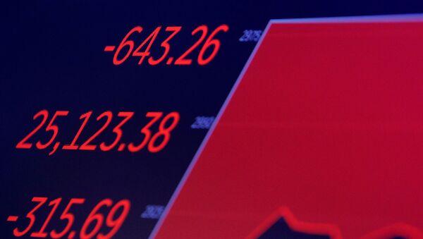 Dow Jones endeksi, koronavirüs - Sputnik Türkiye