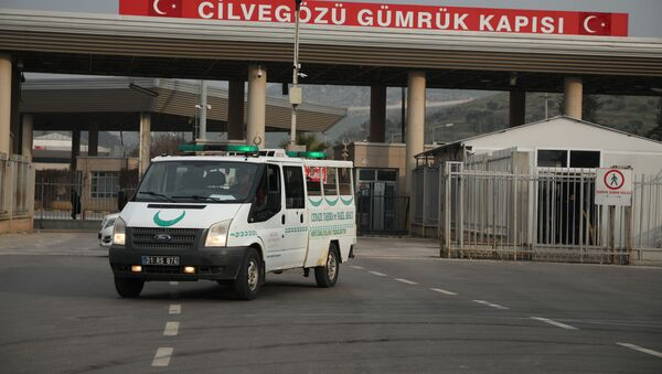 İçerde operasyonlar, sınırda ambulans hareketliliği - Sputnik Türkiye