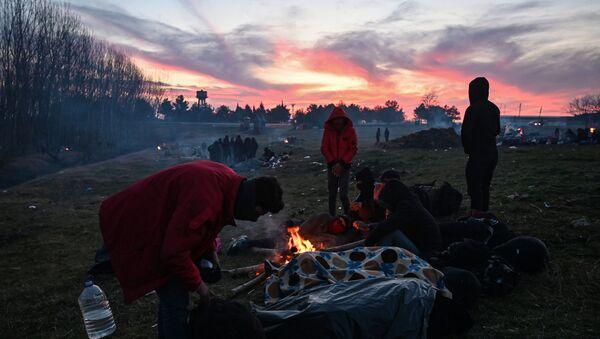 Meriç Nehri-mülteciler-sığınmacılar - Sputnik Türkiye