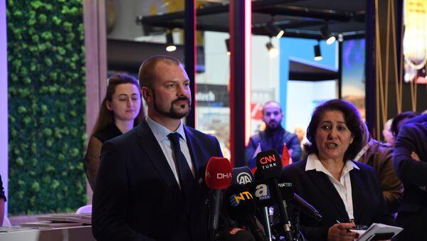 Akkuyu Nükleer İnşaat Birimi Başkanı Denis Sezemin - Sputnik Türkiye