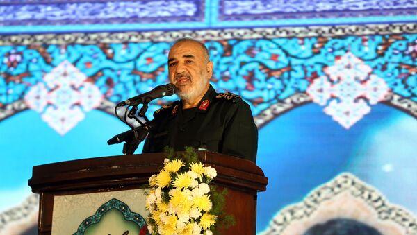 İran Devrim Muhafızları Ordusu Genel Komutanı Hüseyin Selami - Sputnik Türkiye