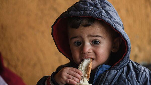 Edirne – çocuk – göçmen – mülteci – Yunanistan sınırı - Sputnik Türkiye