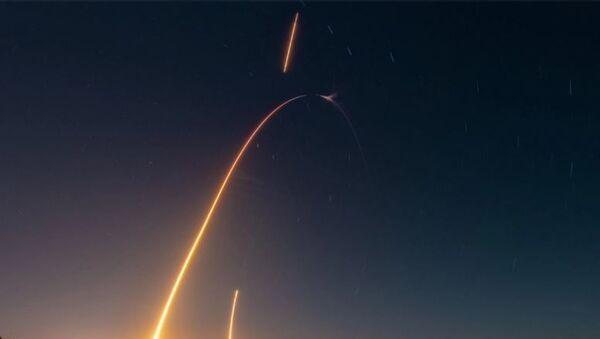 SpaceX, Dragon kargo mekiğini Uluslararası Uzay İstasyonu'na yolladı - Sputnik Türkiye