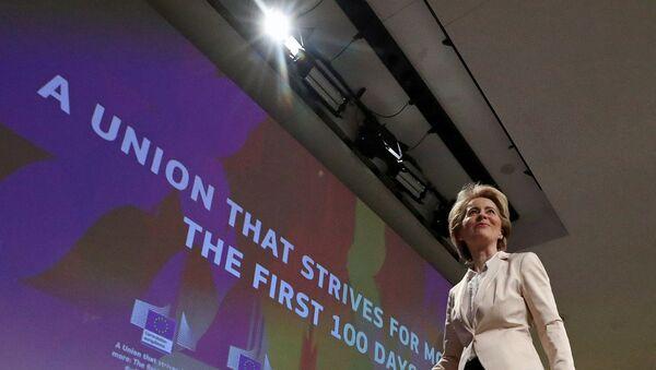 Avrupa Birliği (AB) Komisyonu Başkanı Ursula von der Leyen - Sputnik Türkiye